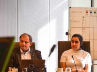 Paul Cordy en Hind Zaïdi in de Commissie voor Onderwijs